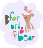 Diseño del oso Imagenes de archivo