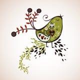 Diseño del pájaro Fotografía de archivo libre de regalías