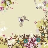 Diseño del pájaro Imagen de archivo libre de regalías
