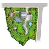 Diseño del paisaje Imagen de archivo