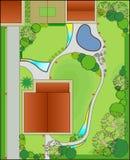 Diseño del paisaje ilustración del vector