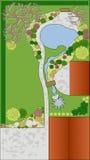 Diseño del paisaje Fotografía de archivo libre de regalías