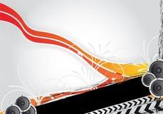 Diseño del partido Imagen de archivo