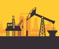 Diseño del petróleo Fotografía de archivo libre de regalías