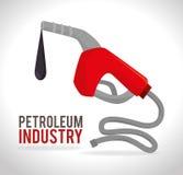 Diseño del petróleo Foto de archivo