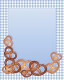 Diseño del pretzel Fotografía de archivo