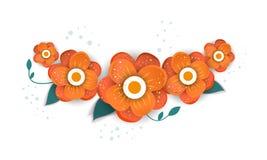 Diseño del ramo floral del vector ilustración del vector