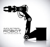 Diseño del robot Fotos de archivo libres de regalías
