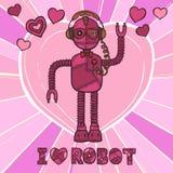 Diseño del robot del inconformista Imagen de archivo libre de regalías