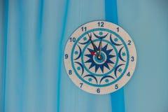 Diseño del ` s del Año Nuevo del estudio para una sesión fotográfica con un Christm Imagenes de archivo