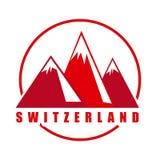 Diseño del suizo libre illustration