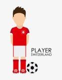 Diseño del suizo ilustración del vector