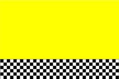 Diseño del taxi Fotografía de archivo libre de regalías
