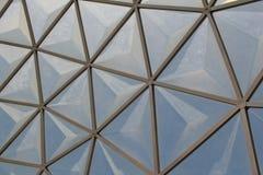 Diseño del tejado de Pentágono Fotos de archivo