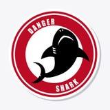 Diseño del tiburón Imagen de archivo libre de regalías