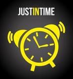 Diseño del tiempo ilustración del vector