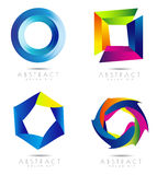 Diseño del vector de Corporate Logo Fotos de archivo libres de regalías