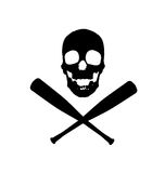 Diseño del vector de los piratas del béisbol libre illustration