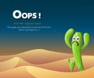 Diseño del vector del diseño de página del error 404 fotografía de archivo libre de regalías