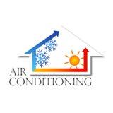 Diseño del vector del acondicionador de aire Imagen de archivo