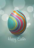Diseño del vector del huevo de Pascua Imágenes de archivo libres de regalías