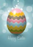 Diseño del vector del huevo de Pascua Foto de archivo libre de regalías