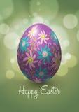 Diseño del vector del huevo de Pascua Foto de archivo