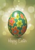 Diseño del vector del huevo de Pascua Fotos de archivo libres de regalías