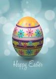 Diseño del vector del huevo de Pascua Imagen de archivo libre de regalías