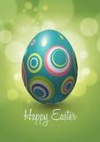 Diseño del vector del huevo de Pascua Fotografía de archivo libre de regalías