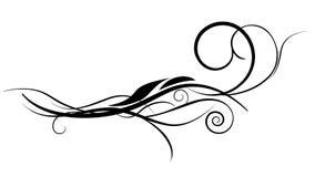 Diseño del vector del ornamento de la flor ilustración del vector
