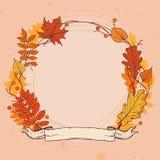Diseño del vector del otoño Fotos de archivo libres de regalías