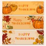 Diseño del vector del otoño Imágenes de archivo libres de regalías
