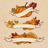 Diseño del vector del otoño Foto de archivo libre de regalías