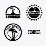 Diseño del verano Fotografía de archivo