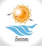 Diseño del verano Imagen de archivo libre de regalías