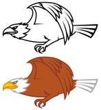 Diseño del vuelo del águila Fotografía de archivo libre de regalías