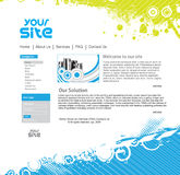Diseño del Web site stock de ilustración