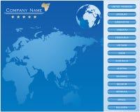 Diseño del Web site Fotografía de archivo libre de regalías