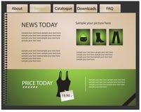 Diseño del Web site Imágenes de archivo libres de regalías