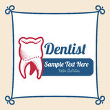 Diseño dental Imágenes de archivo libres de regalías