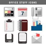 Diseño determinado del icono de la materia de la oficina ilustración del vector