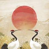 Diseño doble del noveno festival ilustración del vector