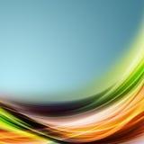 Diseño elegante abstracto del eco Imagenes de archivo