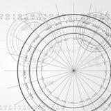 Diseño elegante del vector de la tecnología Imagenes de archivo