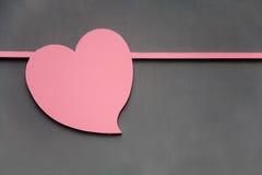 Diseño en forma de corazón Foto de archivo libre de regalías