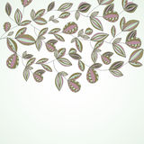 Diseño encantador del resorte con las flores. libre illustration