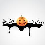 Diseño espeluznante de Halloween Imágenes de archivo libres de regalías