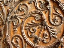 Diseño europeo de la puerta Fotografía de archivo libre de regalías
