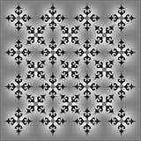 Diseño externo decorativo monocromático del vector del resplandor libre illustration